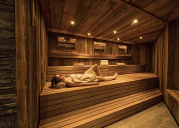 Herbal Sauna - Spa Hotel Watles South Tyrol
