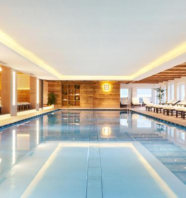 Indoor Pool - Spa Hotel Watles: South Tyrol